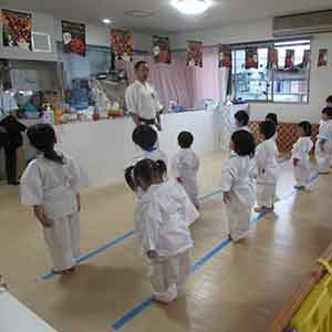 少林寺拳法の武道教室イメージ